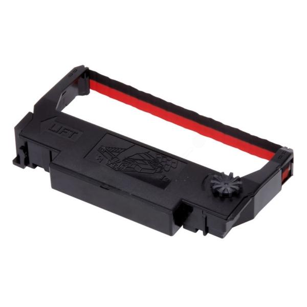 Original Epson C43S015376 / ERC38BR Nylonband schwarz-rot
