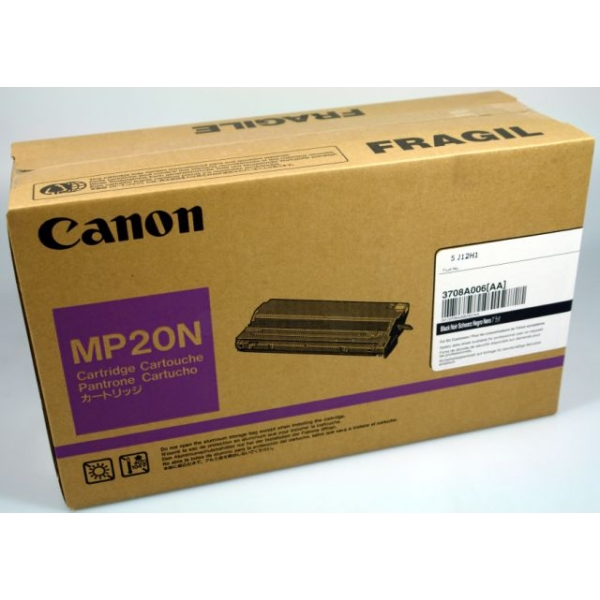 Original Canon 3708A006 / MP20N Toner schwarz