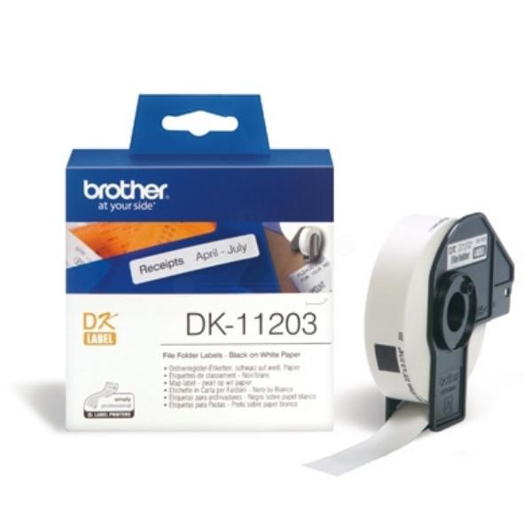 Original Brother DK11203 P-Touch Etiketten