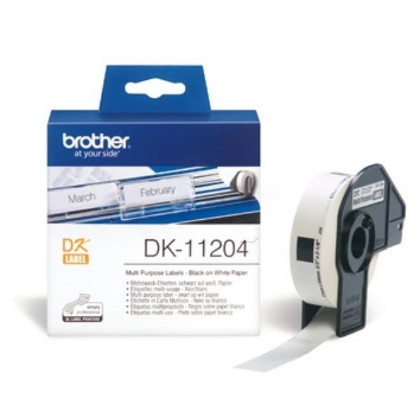 Original Brother DK11204 P-Touch Etiketten