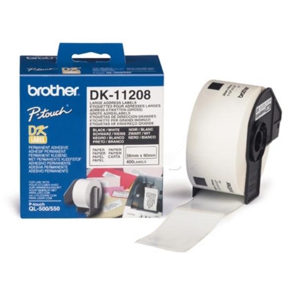 Original Brother DK11208 P-Touch Etiketten