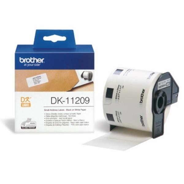 Original Brother DK11209 P-Touch Etiketten