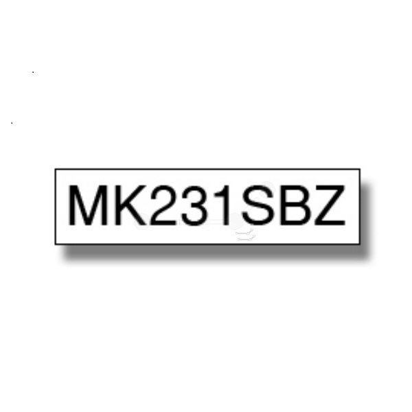 Original Brother MK231SBZ P-Touch Farbband