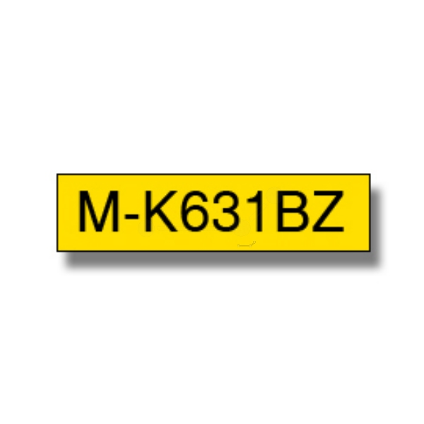 Original Brother MK631BZ P-Touch Farbband