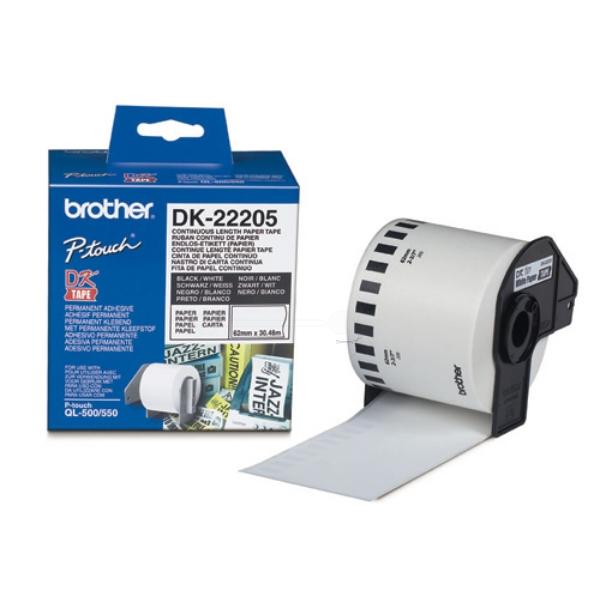 Original Brother DK22205 P-Touch Etiketten
