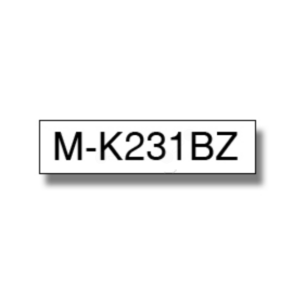 Original Brother MK231BZ P-Touch Farbband