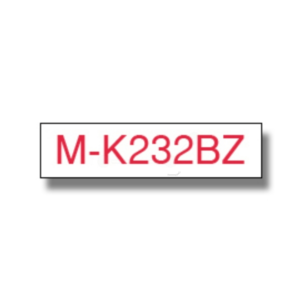 Original Brother MK232BZ P-Touch Farbband