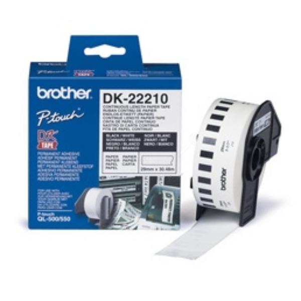 Original Brother DK22210 P-Touch Etiketten