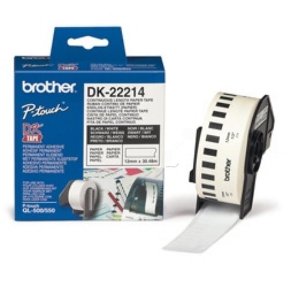 Original Brother DK22214 P-Touch Etiketten