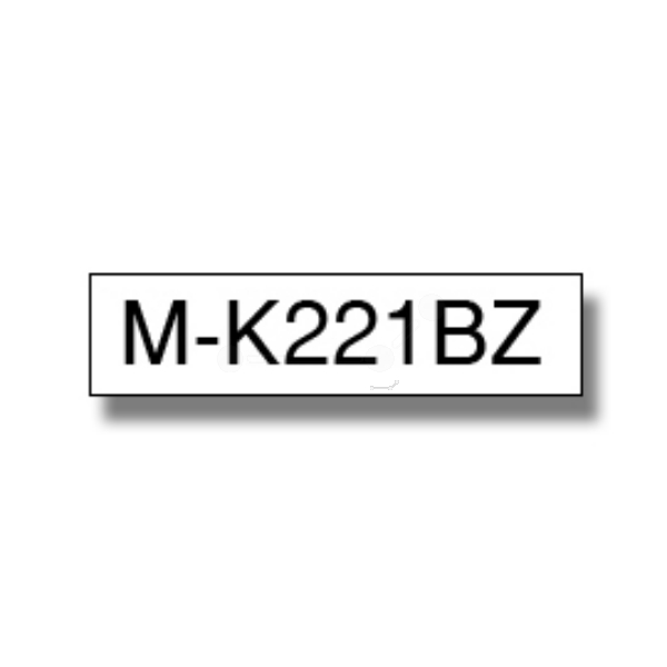 Original Brother MK221BZ P-Touch Farbband