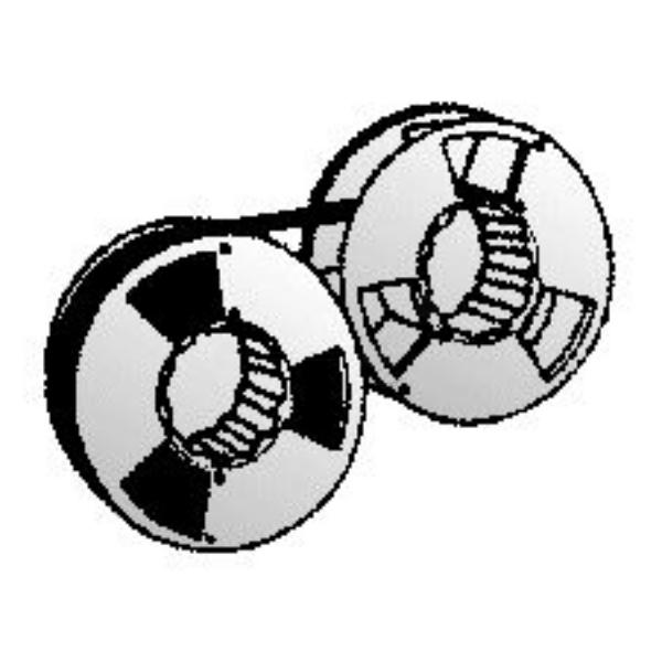 Original Printronix 107675007 Nylonband schwarz