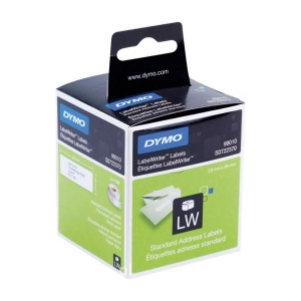 Original Dymo 99010 / S0722370 DirectLabel-Etiketten