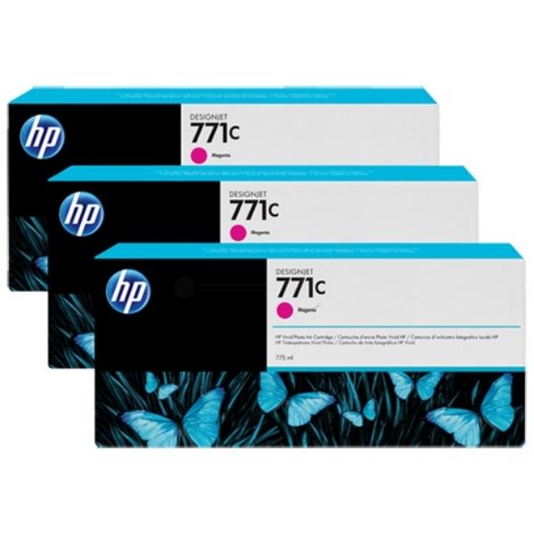 Original HP B6Y33A / 771C Tintenpatrone magenta