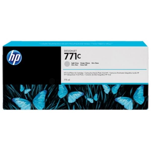 Original HP B6Y14A / 771C Tintenpatrone grau