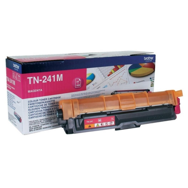 Original Brother TN241M Toner magenta