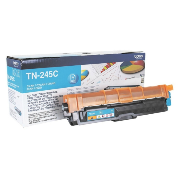 Original Brother TN245C Toner cyan
