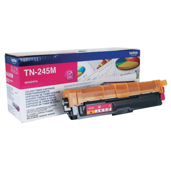 Original Brother TN245M Toner magenta