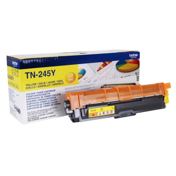 Original Brother TN245Y Toner gelb