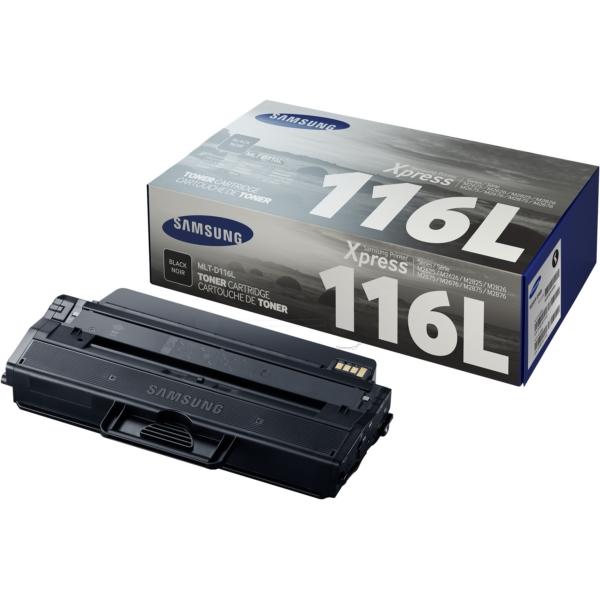 Original Samsung MLTD116LELS / 116L Toner schwarz