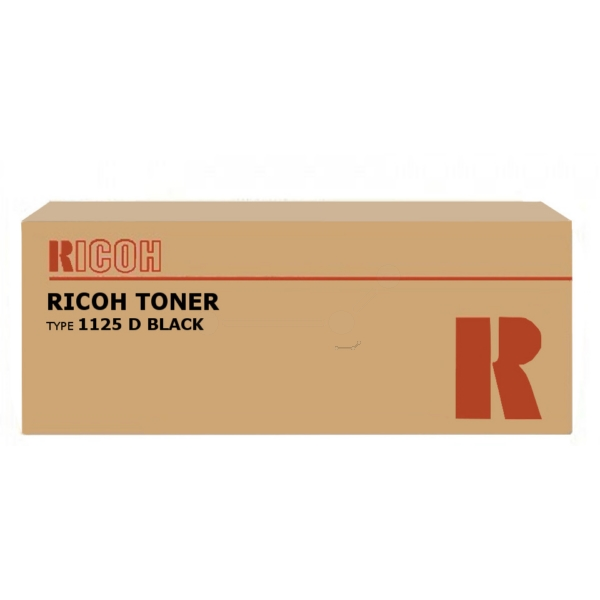 Original Ricoh 401129 / TYPE1125D Toner schwarz