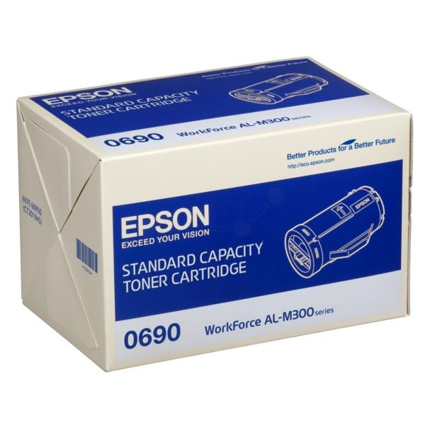 Original Epson C13S050690 / 0690 Toner schwarz