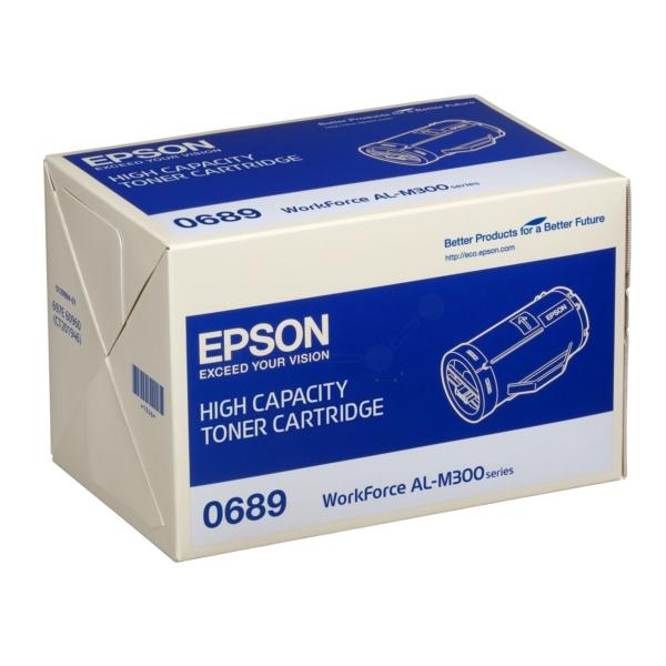 Original Epson C13S050689 / 0689 Toner schwarz