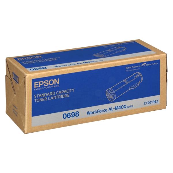 Original Epson C13S050698 / 0698 Toner schwarz