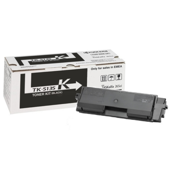 Original Kyocera 1T02PA0NL0 / TK5135K Toner schwarz