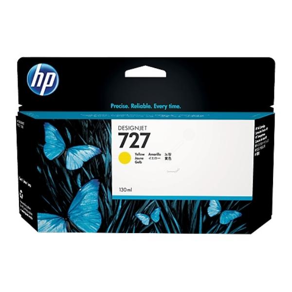 Original HP B3P21A / 727 Tintenpatrone gelb