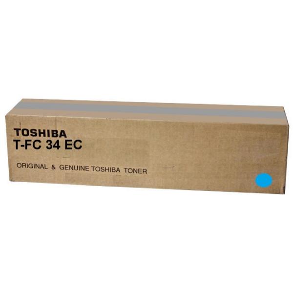 Original Toshiba 6A000001524 / TFC34EC Toner cyan