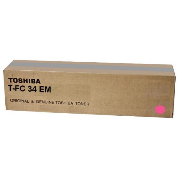 Original Toshiba 6A000001533 / TFC34EM Toner magenta
