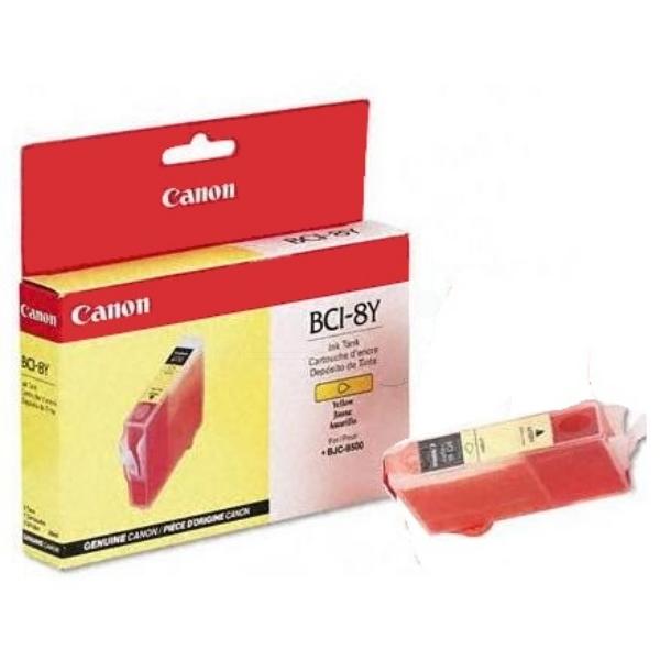 Original Canon 0981A002 / BCI8Y Tintenpatrone gelb