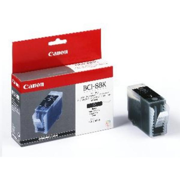 Original Canon 0977A002 / BCI8BK Tintenpatrone schwarz