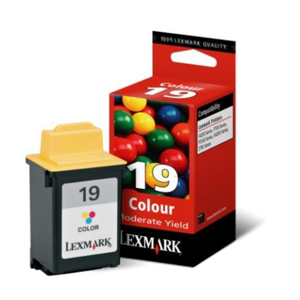 Original Lexmark 15M2619E / 19 Druckkopf color
