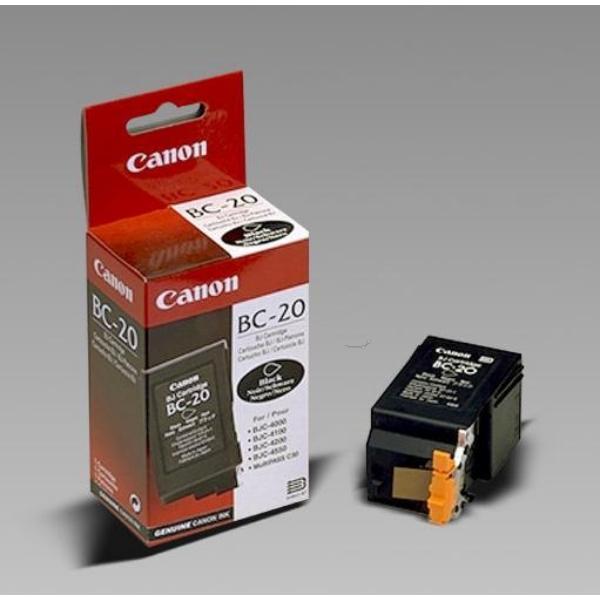 Original Canon 0895A002 / BC20BK Tête d'impression noire