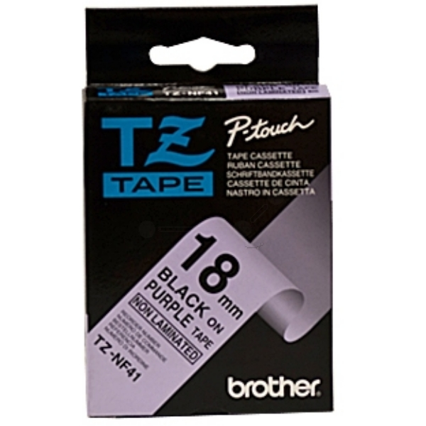 Original Brother TZNF41 P-Touch Farbband