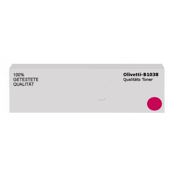 Original Olivetti B1038 Toner magenta