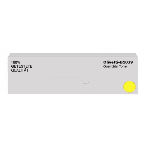 Original Olivetti B1039 Toner gelb