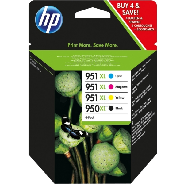 Original HP C2P43AE / 950XL951XL Ink cartridge multi pack