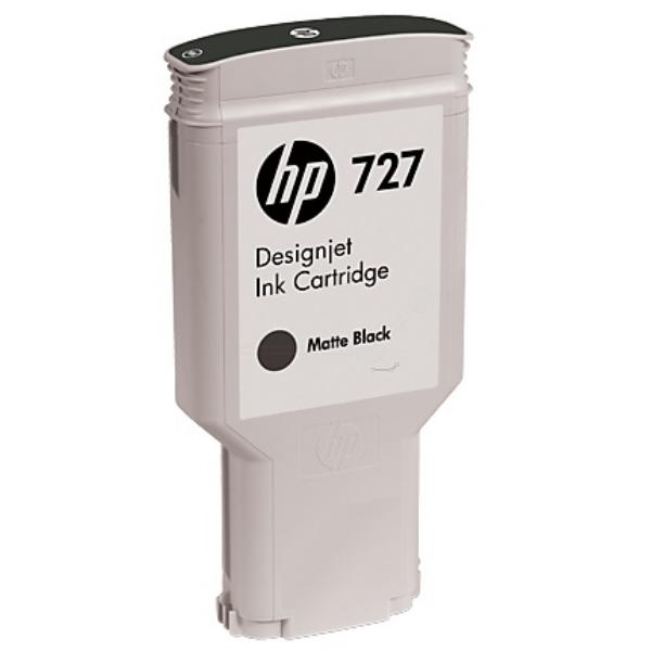Original HP C1Q12A / 727 Cartouche d'encre noire mate