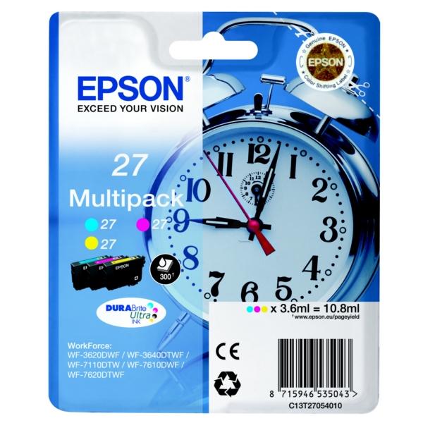 Original Epson C13T27054010 / 27 Tintenpatrone MultiPack