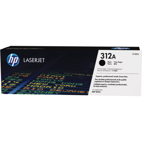 Original HP CF380A / 312A Toner black