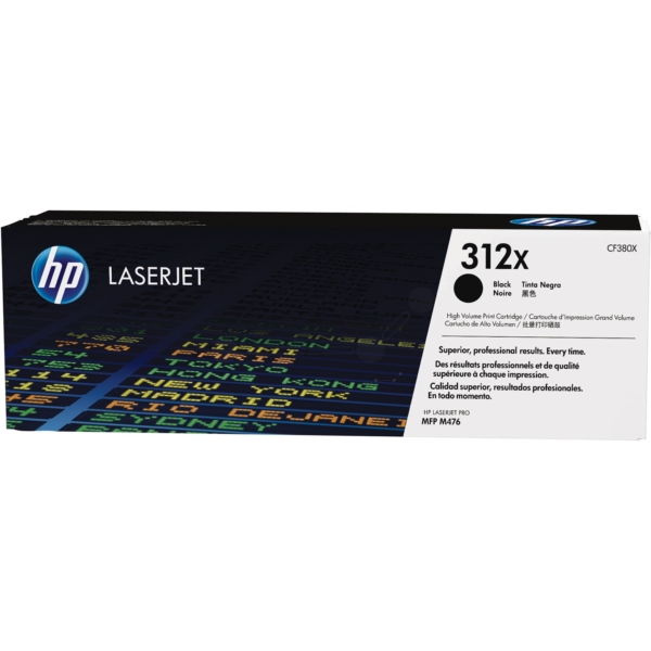 Original HP CF380X / 312X Toner black