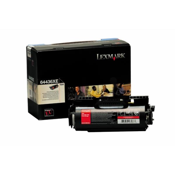 Original Lexmark 64404XE Toner schwarz