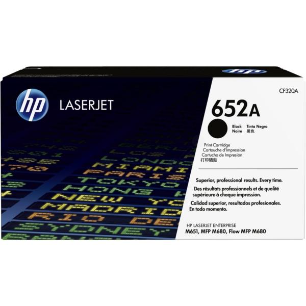 Original HP CF320A / 652A Toner schwarz