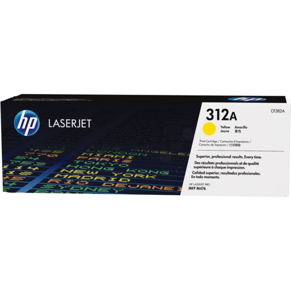 Original HP CF382A / 312A Toner yellow