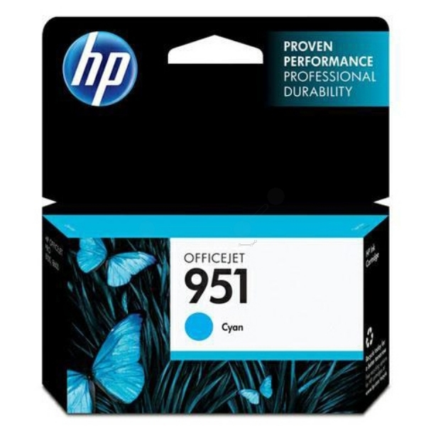 Original HP CN050AE / 951 Ink cartridge cyan