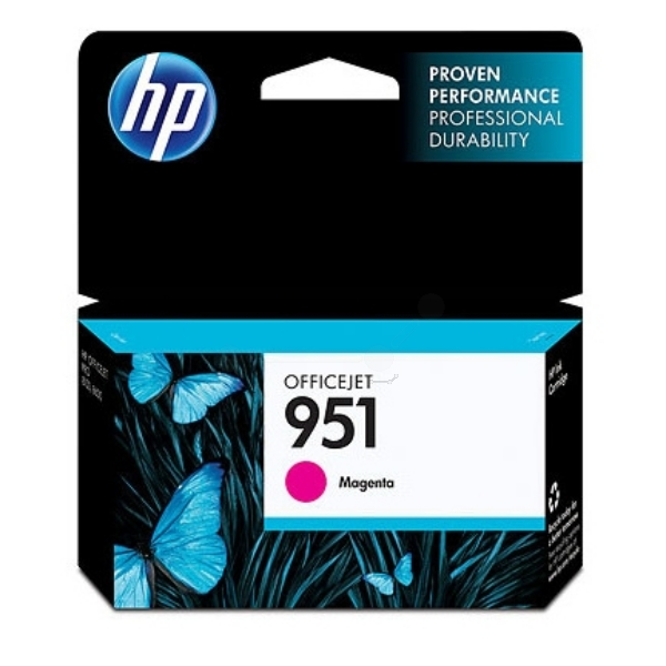 Original HP CN051AE / 951 Ink cartridge magenta