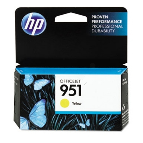 Original HP CN052AE / 951 Ink cartridge yellow