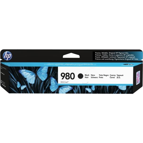 Original HP D8J10A / 980 Tintenpatrone schwarz
